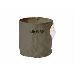 CANVAS POT COVER GREEN〈L〉