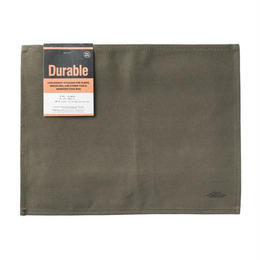 WAXED COTTON PLACEMAT GREEN