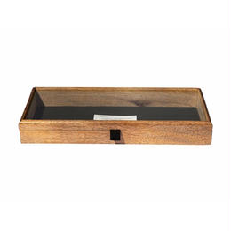 WOODEN DISPLAY BOX 〈L〉