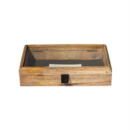 WOODEN DISPLAY BOX 〈S〉