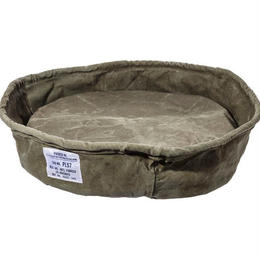 VINTAGE TENT FABRIC PET BED〈L〉