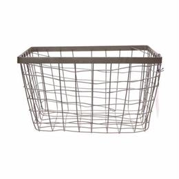 WIRE BASKET RECTANGLE BASKET