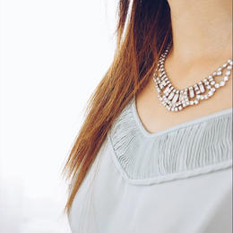 vintage chandelier necklace