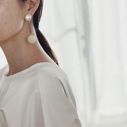 vintage   Pearl earring