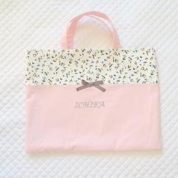 プチリボンのレッスンバッグ(ピンク)