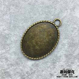 【5点セット】ペンダント 素材 パーツ 金属製 商品番号 P-0016