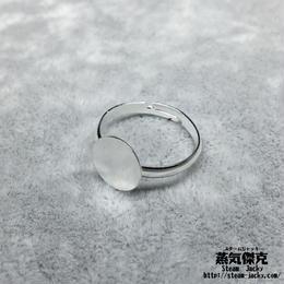 【4点セット】指輪素材 リングパーツ 金属製 フリーサイズ 商品番号R-0007
