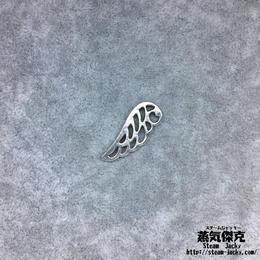 【20点セット】翼風素材 24.4mm x 9.6mm 金属製ハンドメイド素材 商品番号W-0057