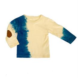 藍染たて柄 ベビーロンT    サイズ100cm