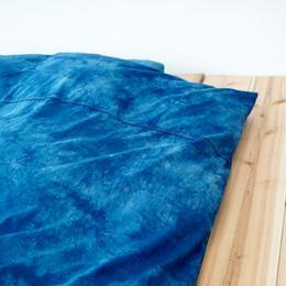 掛け布団カバー 2カラー シングルサイズ 藍染