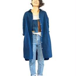 indigo dress shirt