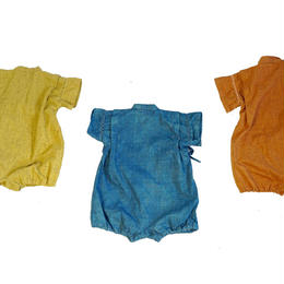 baby kimono rompers/3 natural colors