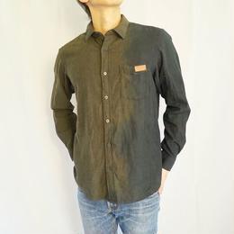 flannel shirt shirt   pomegranate ×indigo