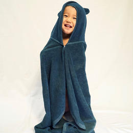 Indigo Baby Bathrobe