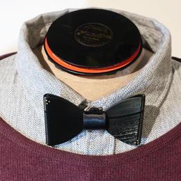 vinyl bow tie