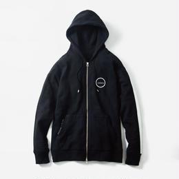 -F/B- ZIP HOODIE / BLACK