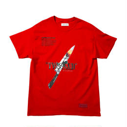 -TWISTED- TEE / RED