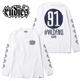 DRAWING NINEONE LS-T / WHITE