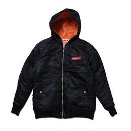 """ANIMALIA フードジャケット """"AMA Hood Jacket"""" / BLACK"""