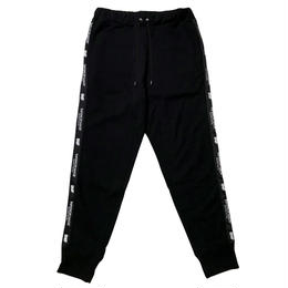 LILWHITE(dot) スウェットパンツ TWISTED- SWEAT PANTS / BLACK