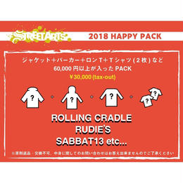 ROLLING CRADLE,RUDIE'S,SABBAT13etc HAPPY PACK