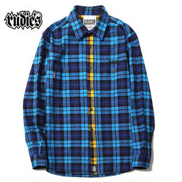 PHAT CHECK SHIRTS / BLUE
