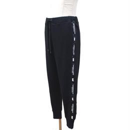 LILWHITE(dot) スウェットパンツ TWISTED- SWEAT PANTS / BLACK