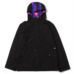 SPLASH GALAXY MOUNTAIN PARKA / BLACK