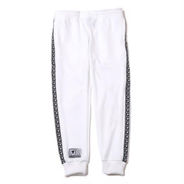 HOOKY -Cuffed Track Pants- / WHITE