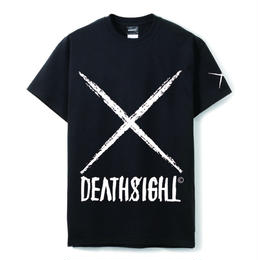 deathsight logo tees /BLACK
