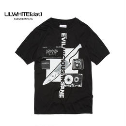 -LIST- BIG TEE / BLACK
