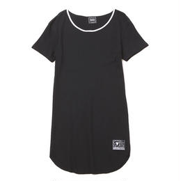 NORM -Tereko Long Tee- / BLACK-WHITE