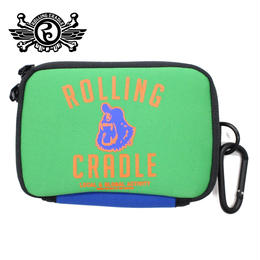CYCLOPS SHOUT MINI POUCH / GREEN