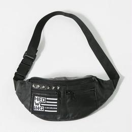 Leather Waist Bag / Silverstuds