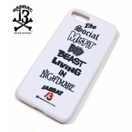 BEAST iPhone CASE / WHITE