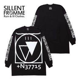 CRYPTIC -Outsize Long Sleeve- / BLACK