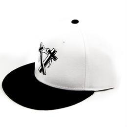 """Intarsect"" Snapback CAP / WHITE"