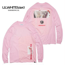 -MYTH- LONG SLEEVE TEE  / PINK