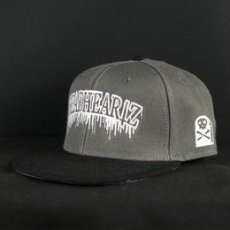 """BLOOD""SNAPBACK GRAY"