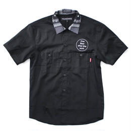 CYCLO-TIGER WORK SHIRT / BLACK