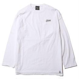WHISPER -Long Sleeve w/Pocket- / WHITE