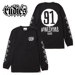 DRAWING NINEONE LS-T / BLACK