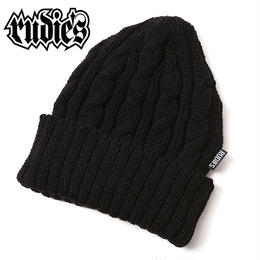 WASTE CABLE KNITCAP / BLACK