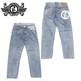 THUNDER GATE BAGGY DENIM / CHEMICAL
