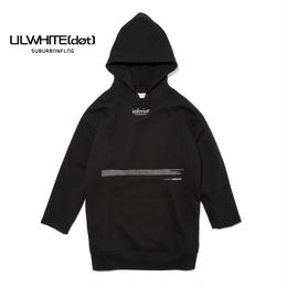 -INFERIOR- Q/S SIDE ZIP HOODIE  / BLACK