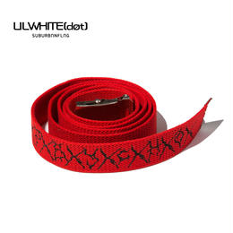 -PSYCHO- LONG BELT / RED