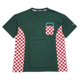 RC CHECKER BIG Tee / GREEN