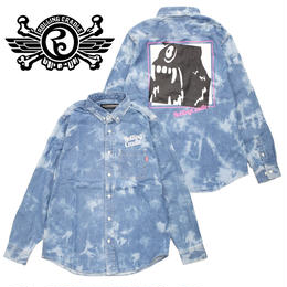BIG SHOUT DENIM SHIRT / BLEACH