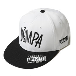 DRAWING DEMPA SNAPBACKCAP / WHITE