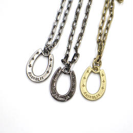 GOOD LUCK HOOF / SILVER,BLACK,BRASS